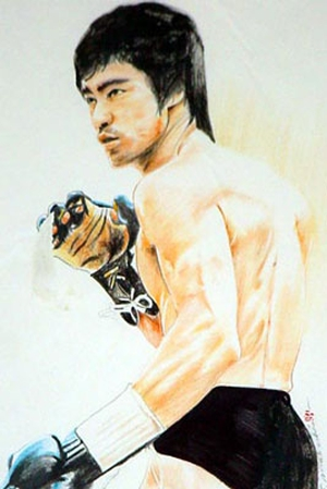 Bruce Lee by Colorfarma